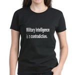 Military Intelligence (Front) Women's Dark T-Shirt