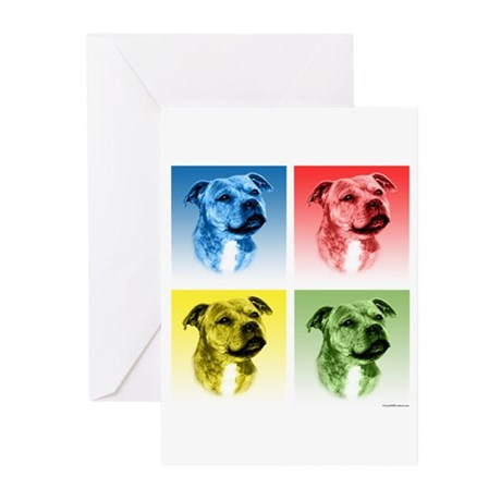 Staffy Pop Greeting Cards (Pk of 20)