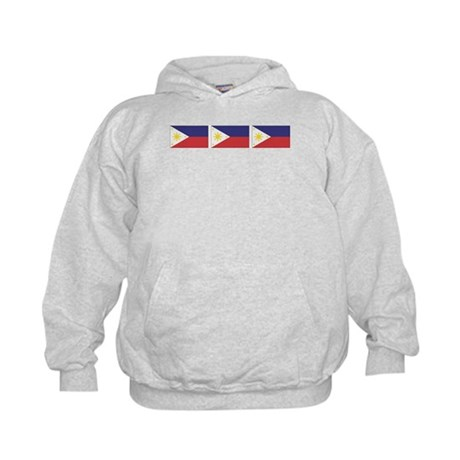 Philippine Flags Kids Hoodie