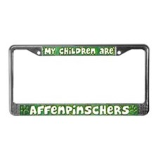 My Children Affenpinscher License Plate Frame