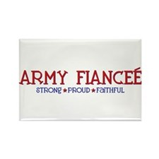 Strong, Proud, Faithful - Army Fianceé Rectangle M
