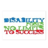 Disability No Limits Postcards (Package of 8)