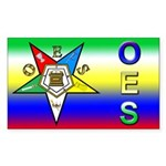 OES Rectangle Sticker
