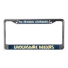 Lowrider Lancashire Heeler License Plate Frame