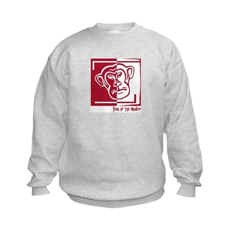 Year of the Monkey Kids Sweatshirt
