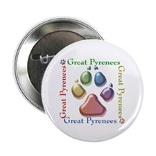 "Great Pyr Name2 2.25"" Button (100 pack)"