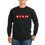 TECHNOLOGY Long Sleeve Dark T-Shirt