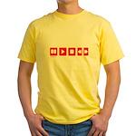 TECHNOLOGY Yellow T-Shirt