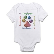 Leonberger Name2 Infant Bodysuit