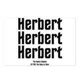 Herbert Postcards (Package of 8)