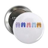 "5 Pairs of Flip-Flops 2.25"" Button (10 pack)"
