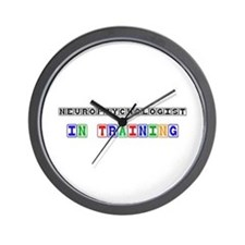 Neuropsychologist In Training Wall Clock