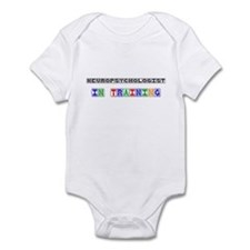 Neuropsychologist In Training Infant Bodysuit