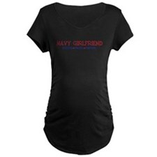 Strong, Proud, Faithful - Navy Girlfriend Maternit