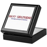 Strong, Proud, Faithful - Navy Girlfriend Keepsake