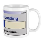 Sarcasm Loading Small Mugs