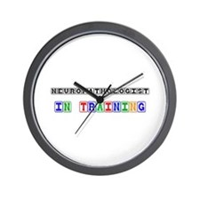Neuropathologist In Training Wall Clock