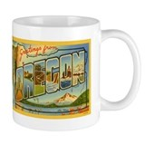 Oregon OR Small Mug