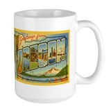 Oregon state Large Mug (15 oz)