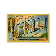 Oregon OR Rectangle Magnet