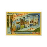 Oregon OR Rectangle Magnet (10 pack)
