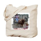 Mini Horse Tote Bag