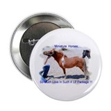 "Mini Horse 2.25"" Button (100 pack)"