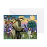 St. Fran. / Brittany Greeting Card