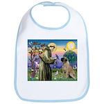 St Francis / Bullmastiff Bib