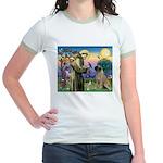 St Francis / Bullmastiff Jr. Ringer T-Shirt