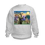 St Francis / Bullmastiff Kids Sweatshirt