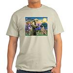 St Francis / Bullmastiff Light T-Shirt