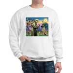 St Francis / Bullmastiff Sweatshirt