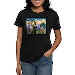St Francis / Bullmastiff Women's Dark T-Shirt