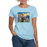 St Francis / Bullmastiff Women's Light T-Shirt