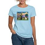 St. Francis & Collie Women's Light T-Shirt
