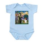 St. Francis & Collie Infant Bodysuit