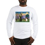 St. Francis & Collie Long Sleeve T-Shirt