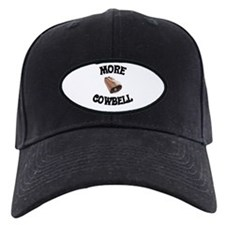 More Cowbell! (as seen on Barely Famous) Baseball Hat