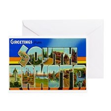 South Dakota SD Greeting Cards (Pk of 10)