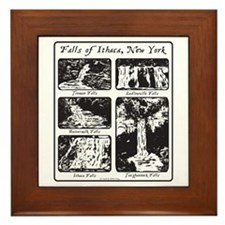 Falls of Ithaca, NY Framed Tile