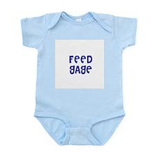 Feed Gage Infant Creeper