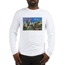Wisconsin WI Long Sleeve T-Shirt