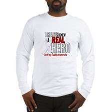 Never Knew A Hero 2 PEARL (Daddy) Long Sleeve T-Sh