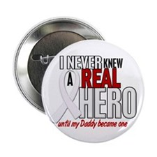 """Never Knew A Hero 2 PEARL (Daddy) 2.25"""" Button (10"""