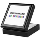 Naturopath In Training Keepsake Box