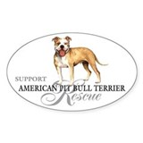 APBT Rescue Oval Decal