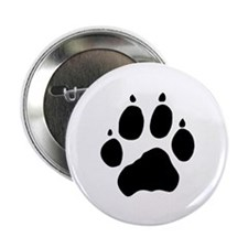"Wolf Paw 2.25"" Button (100 pack)"