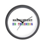 Nasologist In Training Wall Clock
