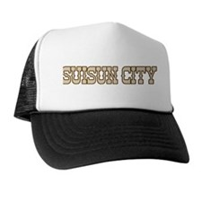 suisun city (western) Trucker Hat